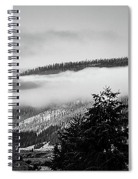 Misty Mountain  Spiral Notebook