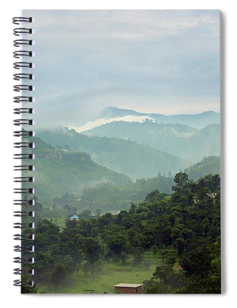 Misty Mountains Spiral Notebook