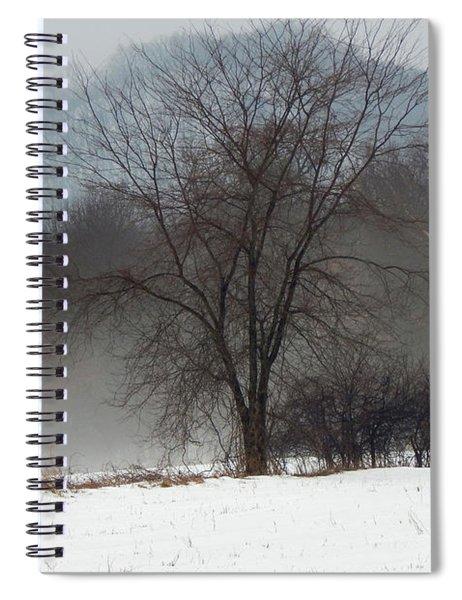 Misty Tree Spiral Notebook
