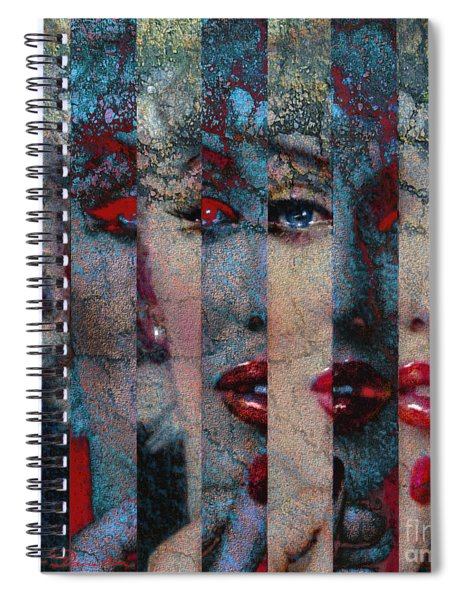 Mmarilyn 132 Q Sis Spiral Notebook