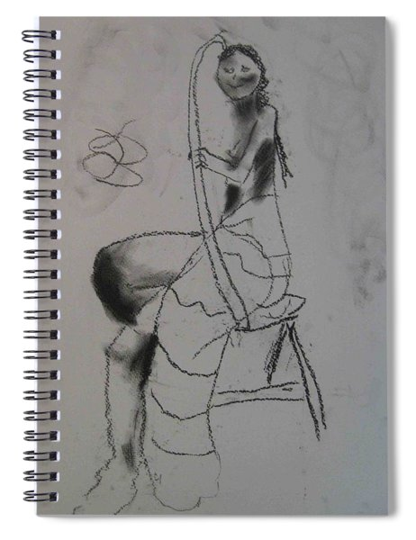 model named Chieh two Spiral Notebook by AJ Brown