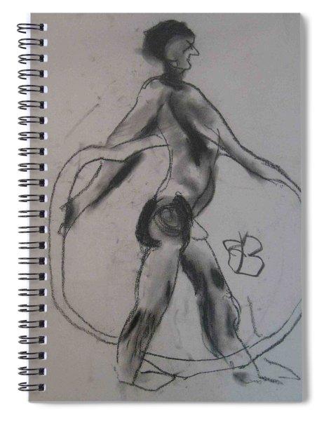 model named Guy Spiral Notebook