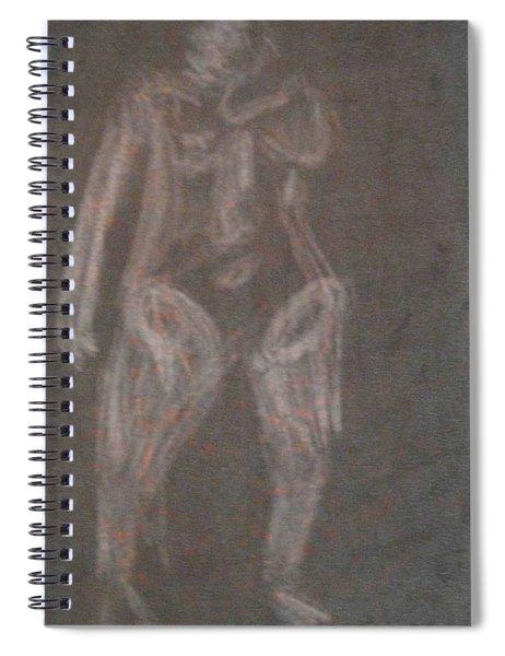 Model Named Helene Four Spiral Notebook