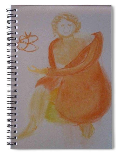 model named Helene three Spiral Notebook