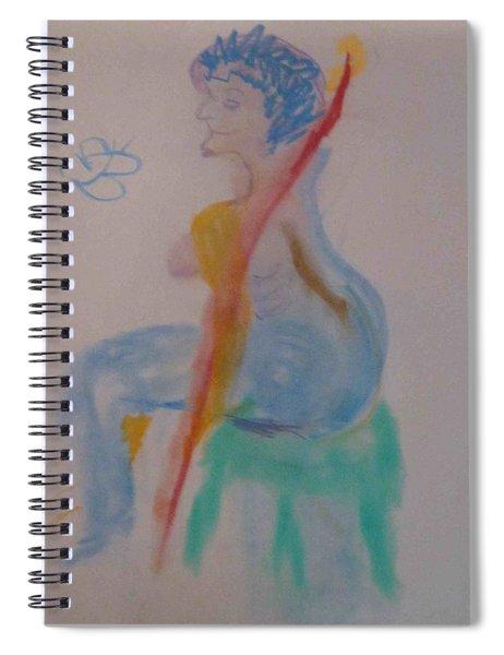 model named Helene two Spiral Notebook