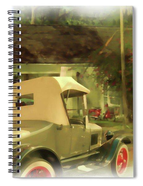 Model T In Barbados Spiral Notebook
