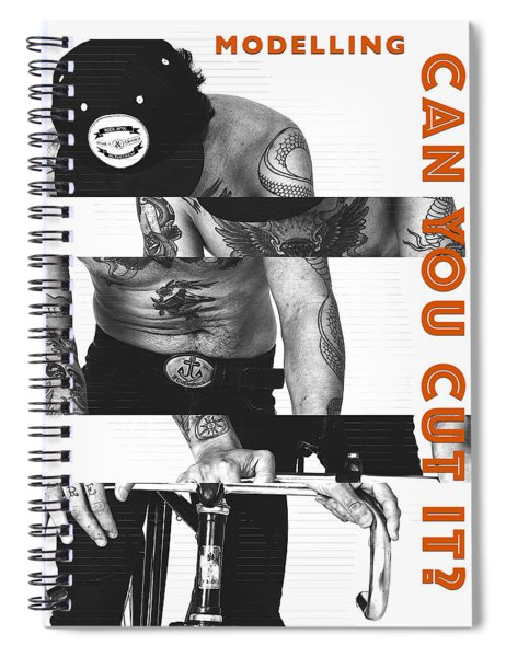 Modelling Can You Cut It? Spiral Notebook