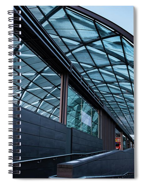 Modern Architecture Shell Spiral Notebook