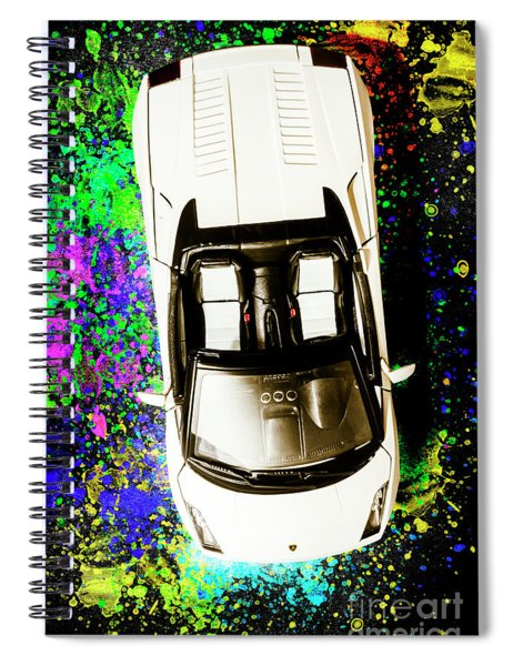 Modern Masterpiece Spiral Notebook