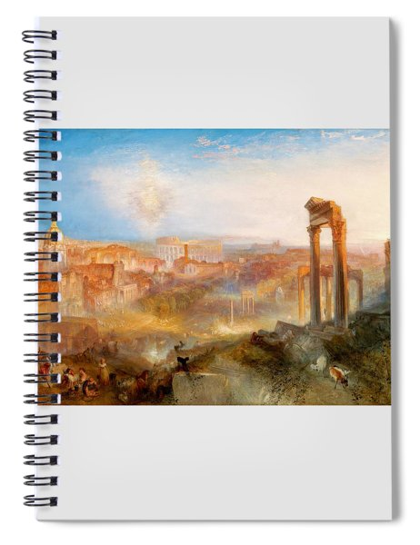 Modern Rome-campo Vaccino - Digital Remastered Edition Spiral Notebook