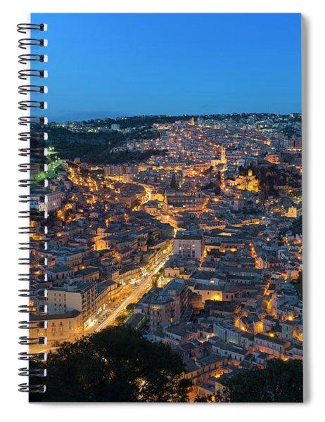 Modica, Sicily Spiral Notebook