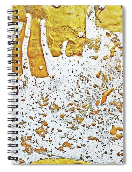 Molten Gold  Spiral Notebook
