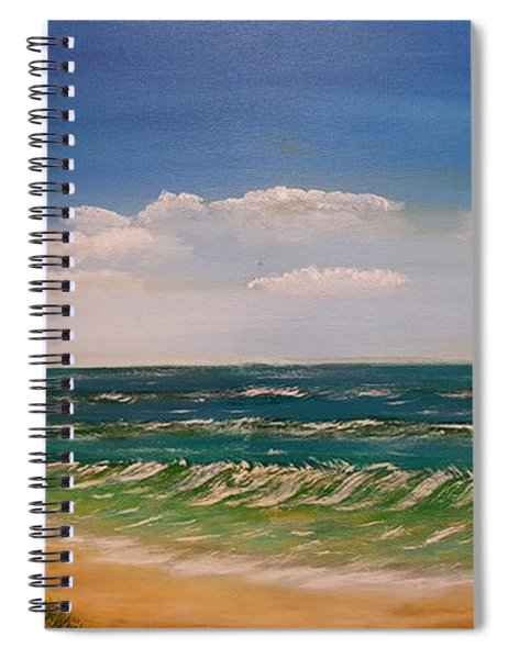 Moments Of Peace Spiral Notebook