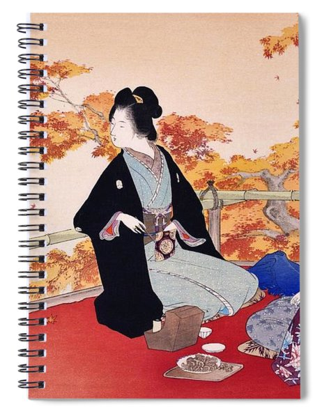 Momijigari - Top Quality Image Edition Spiral Notebook