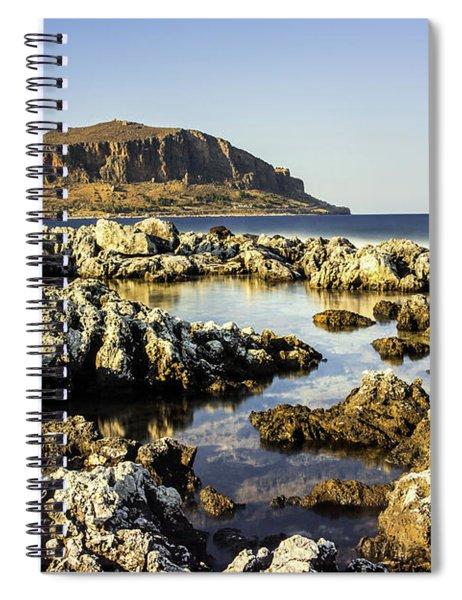 Monemvasia Rock Spiral Notebook