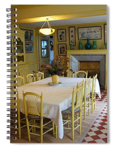 Monets House 1 Spiral Notebook