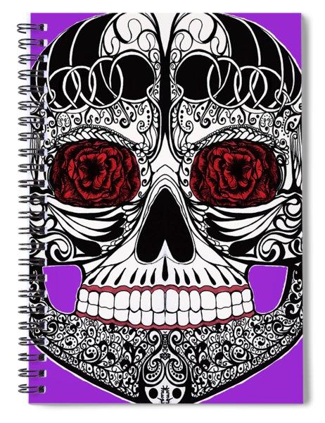 Monika's Sugar Skull Spiral Notebook