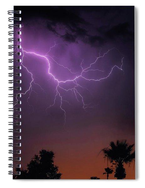 Monsoon Sunset 2019 Spiral Notebook