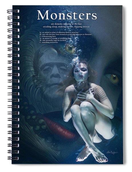Monsters Spiral Notebook