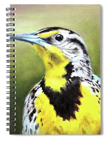 Montana Meadowlark Spiral Notebook