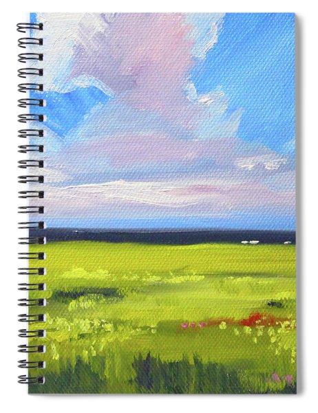 Montana Prairie Spiral Notebook