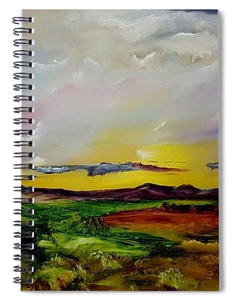Montana Summer Storms        5519 Spiral Notebook