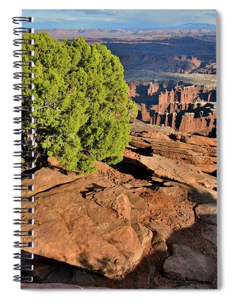 Monument Basin From Grand View Point Spiral Notebook