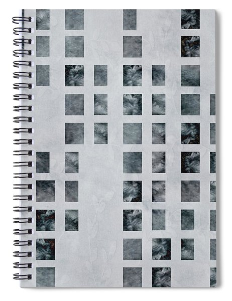 Moody Blues Data Pattern Spiral Notebook
