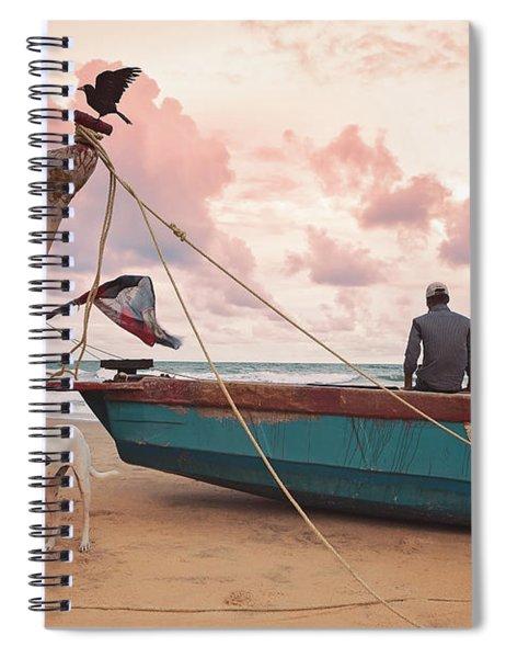 Moody Skies Spiral Notebook