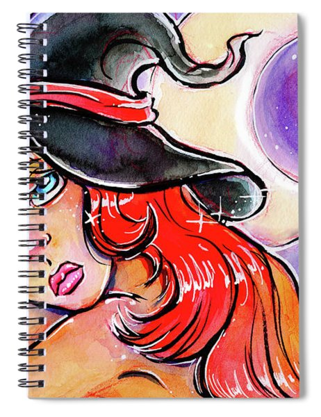Moon Dreaming  Spiral Notebook