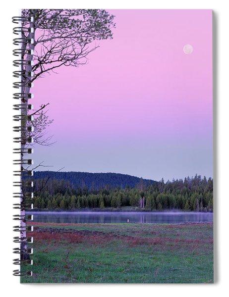 Moon Set Spiral Notebook