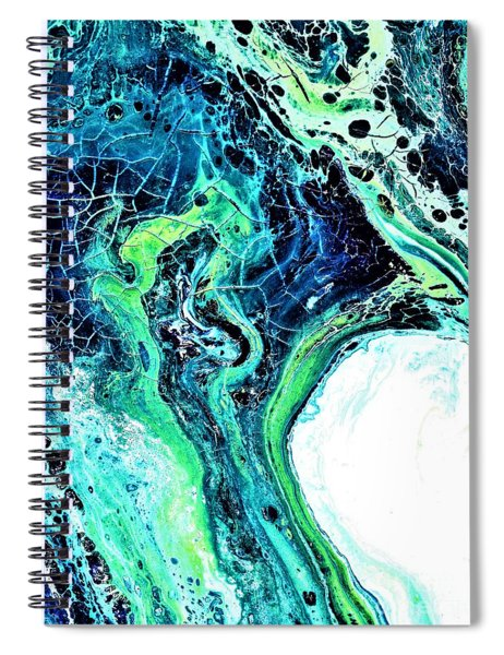 Moonglow  Spiral Notebook