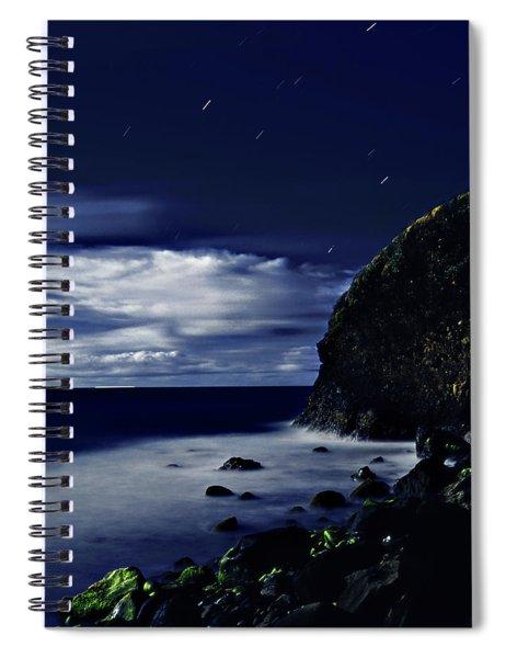Moonlight At Argyle Spiral Notebook