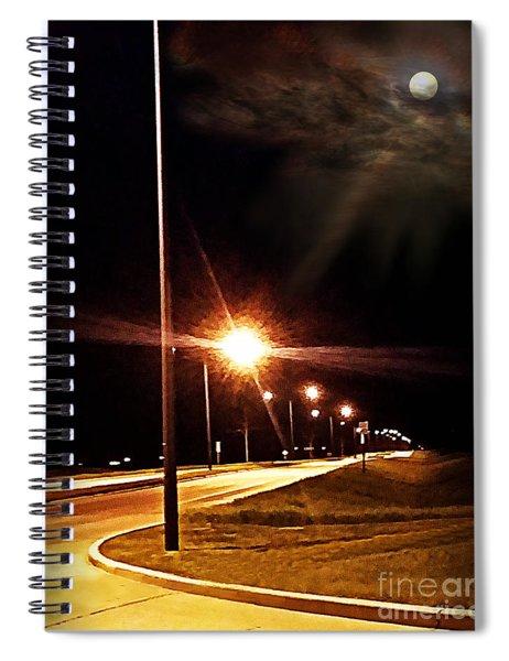 Moonlight Walk Spiral Notebook
