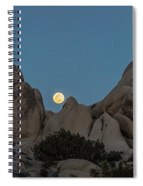 Moonrise In The Sight Spiral Notebook