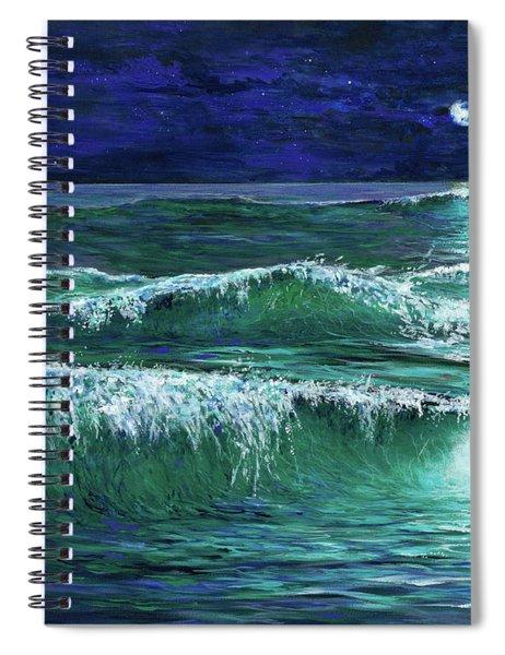 Moonshine Spiral Notebook