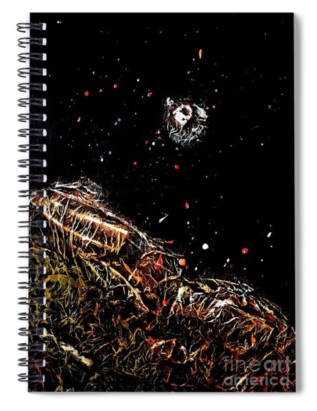 Moonstruck2 Spiral Notebook