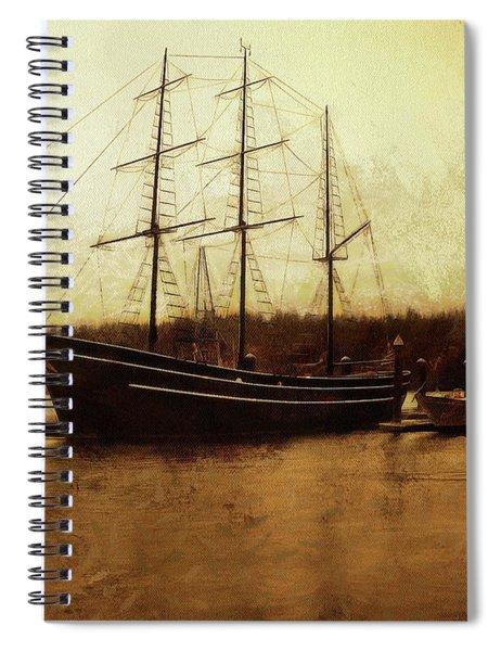 Moored Spiral Notebook