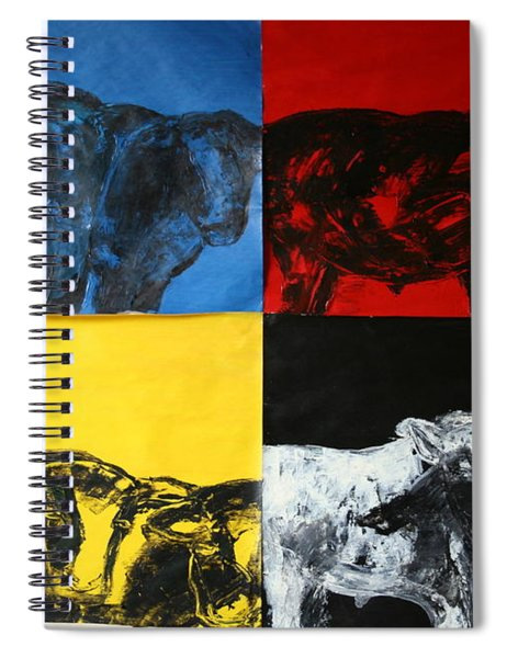 Mooving Out Of Our Land Spiral Notebook