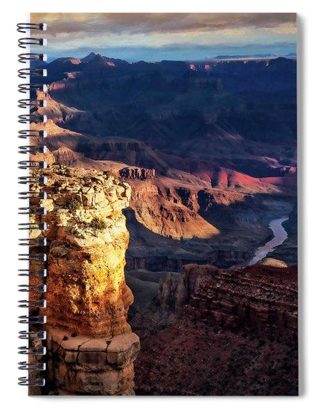 Moran Point 3 Spiral Notebook by Scott Kemper
