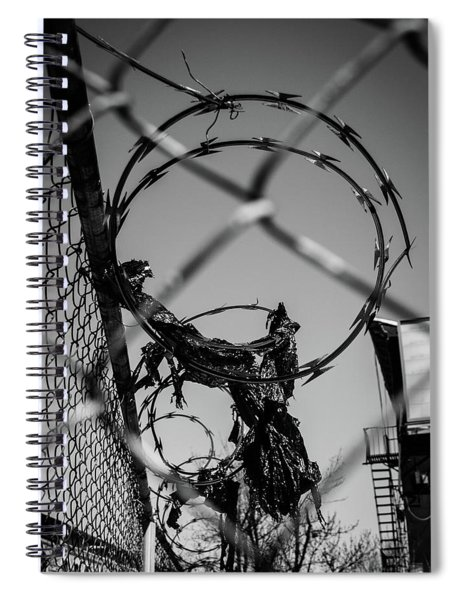 More Barriers Spiral Notebook