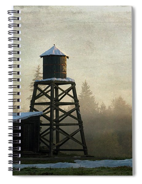 More Of The Light - Hope Valley Art Spiral Notebook