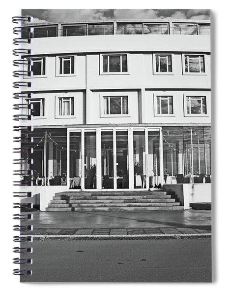 Morecambe. The Midland Hotel Spiral Notebook