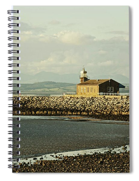 Morecambe. The Stone Jetty. Spiral Notebook