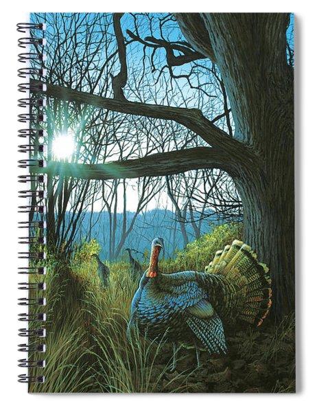 Morning Chat - Turkey Spiral Notebook