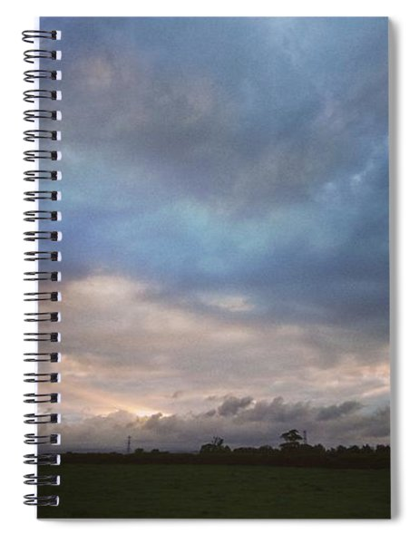 Morning Clouds Spiral Notebook