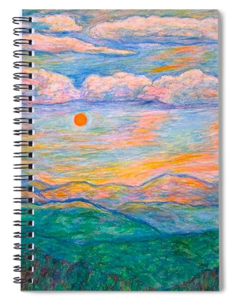 Morning Color Dance Spiral Notebook