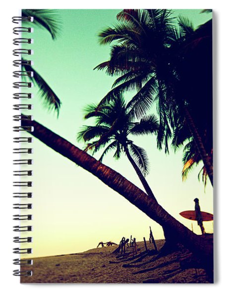 Morning Gaze Spiral Notebook