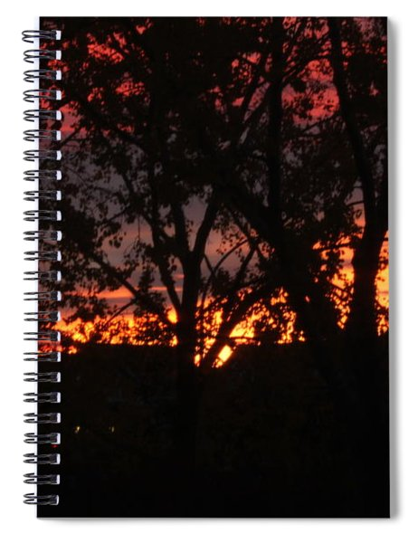 Morning Glow Spiral Notebook