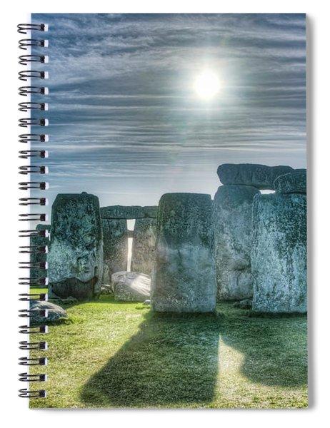 Morning Hedge Spiral Notebook
